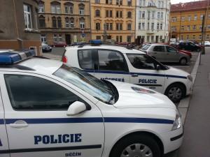 MP Děčín - Mladíkovi se líbilo praskání obkladů, strážníkům už méně