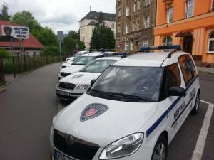 MP Děčín - služební vozidla