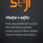 Aplikace Sejf
