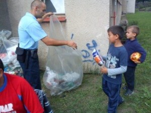 MP Děčín - Děti soutěžily v úklidu, vyčistily boletické sídliště