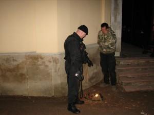 MP Děčín - zadržení zloděje na hřbitově