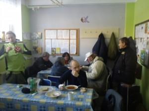 MP Děčín - Asistenti a strážníci se složili na akci pro bezdomovce
