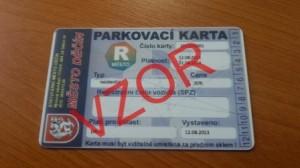 MP Děčín - Parkovací karty - změna prodejního místa