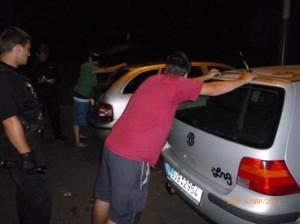 MP Děčín - Strážníci zadrželi zloděje benzínu přímo při činu