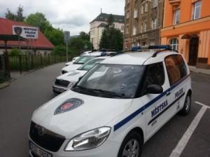 MP Děčín - Zloděj před strážníky unikal jen čtyři minuty