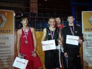 Sportovní klub MP Děčín - David Pazdera na MS juniorů ve Svitavách