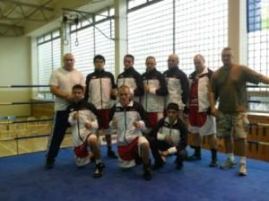 SKMP Děčín - Děčínští boxeři měli premiéru v první lize a hned porazili Ústí